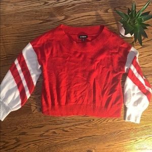 Red Express Sweater